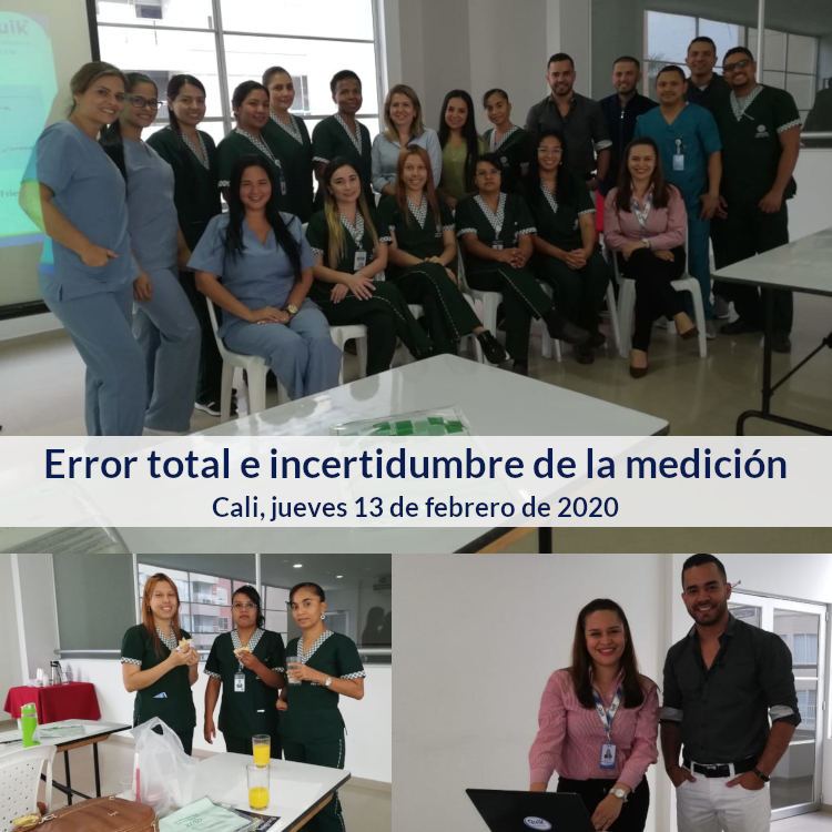 error total incertidumbre medicion